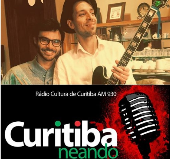 Daniel Dalessandro e Franco das Camélias no Curitibaneando